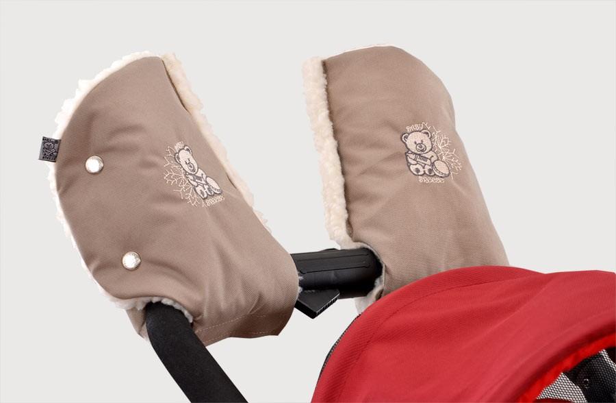 рукавицы на коляску своими руками